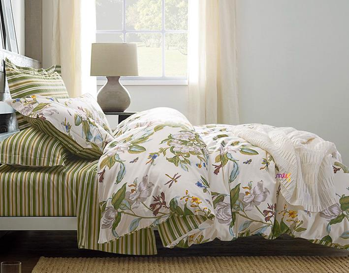 Blooming Botanical Nature Cottage Country Style Duvet