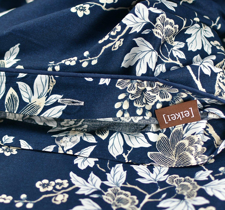Eastern Floral Chinoiserie Blossom Print Duvet Quilt Cover