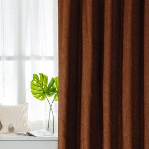 Corduroy Cotton Velvet Window Curtains